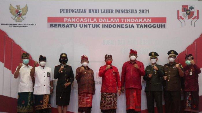 Bupati Karangasem Gede Dana Launching Peringatan Bulan Bung Karno