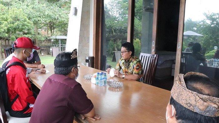 Siswa SMAN 1 Mengwi Lolos Menjadi Paskibraka Nasional, Bupati Giri Prasta Minta Jaga Kesehatan