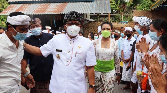 Giri Prasta Apresiasi Krama Banjar Bedauh Badung, Guyub Laksanakan Karya Memukur di Tengah Pandemi