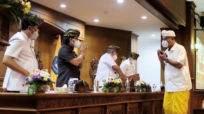 Rapat Paripurna DPRD Badung, Bupati Giri Prasta Apresiasi Fraksi-Fraksi DPRD Badung