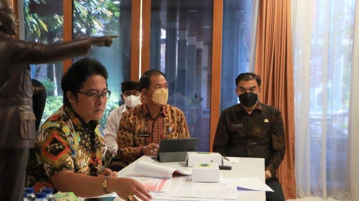 Bupati Giri Prasta Paparkan Perkembangan UMK di Badung