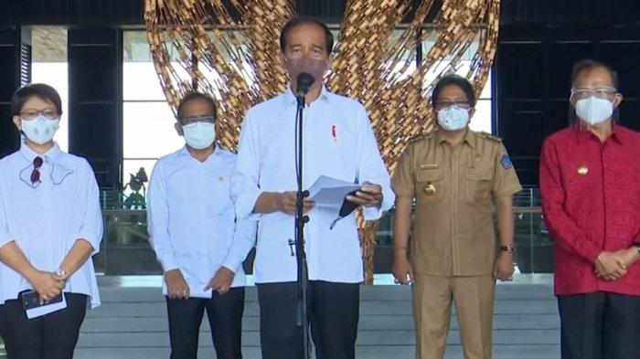 Bupati Giri Prasta Sambut Kedatangan Presiden Jokowi di Kuta Selatan Badung
