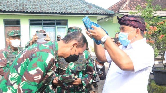 Serangkaian TMMD di Jembrana, Bupati Tamba Terima Kunjungan Tim Wasev Mabes TNI