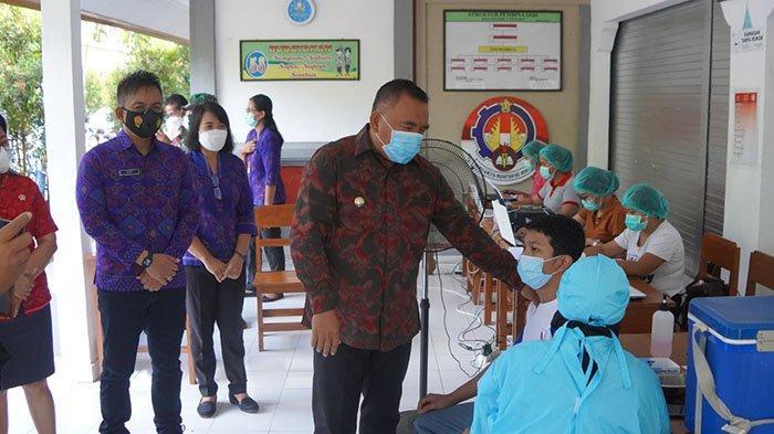 Lewat Gebyar Vaksinasi Anak dan Remaja, Pemkab Jembrana Percepat Tuntaskan Target Vaksinasi Covid-19