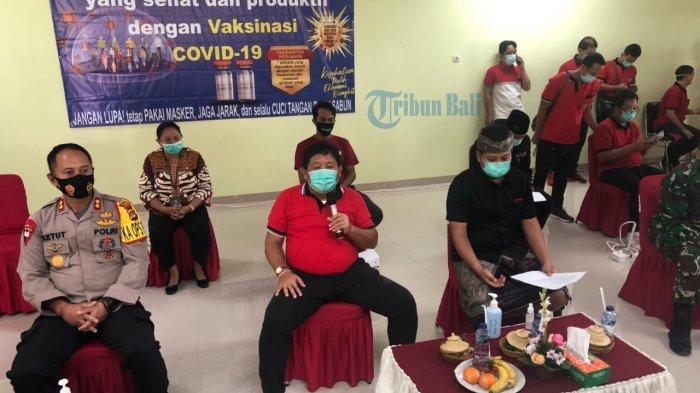 Memiliki Tensi Tinggi, Bupati Jembrana Artha Gagal Suntik Vaksin Covid-19