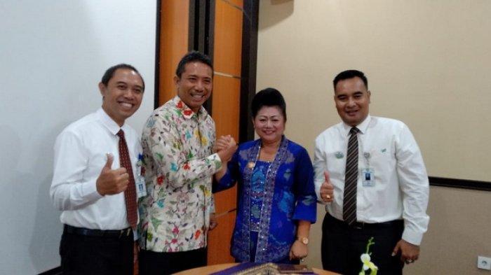 Bupati Karangasem Hadiri Sertijab Direktur BPD Bali, Ini Pujian Sang Direktur