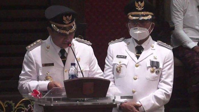 Pidato Perdana Bupati Karangasem Gede Dana Usai Dilantik, Ini yang Disampaikan