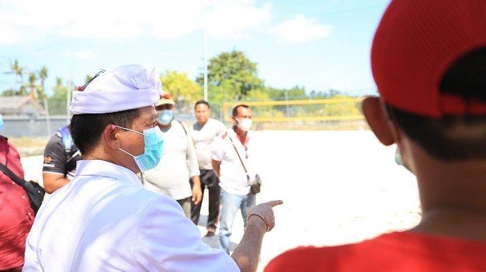 Pesisir Jungubatu Klungkung Dilirik Jadi Lapangan Voli Standar Internasional