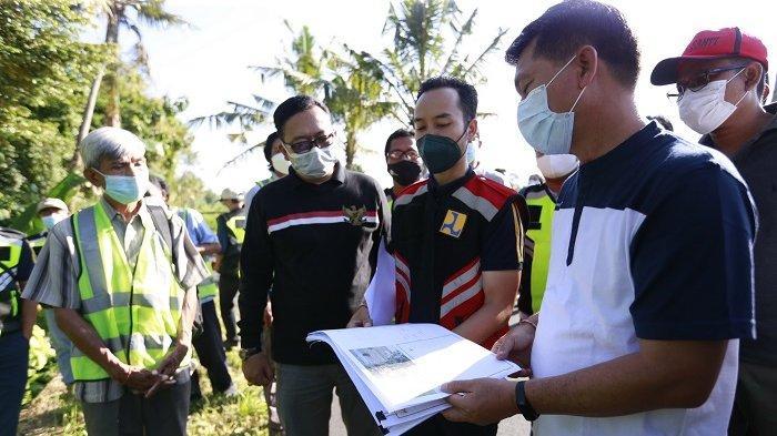 Atasi Keterbatasan Air, Bupati Suwirta Tinjau Lokasi Rencana Pembangunan Embung di Desa Getakan