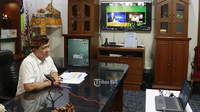 Bupati Nyoman Suwirta Masuk PDIP Demi Dicalonkan Sebagai Wakil Gubernur? Ini Jawaban Lugasnya