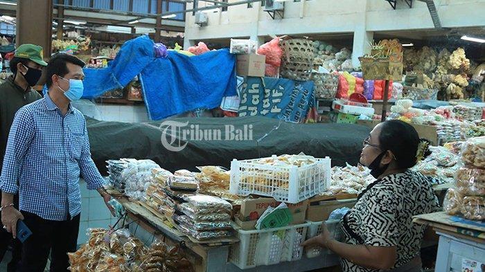 Pasca Pasar Galiran Klungkung Dibuka, Masih Banyak Pedagang Takut Berjualan Kembali
