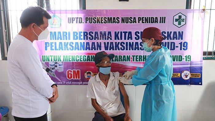 Target 18 Tahun ke Atas, Vaksinasi Covid-19 Masal di Nusa Penida Ditarget 15.000 Sasaran