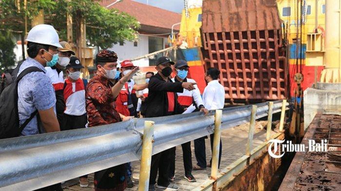 Selain Memperbarui Movable Bridge, Plengsengan Kapal Juga Akan Dibangun di Pelabuhan Nusa Penida