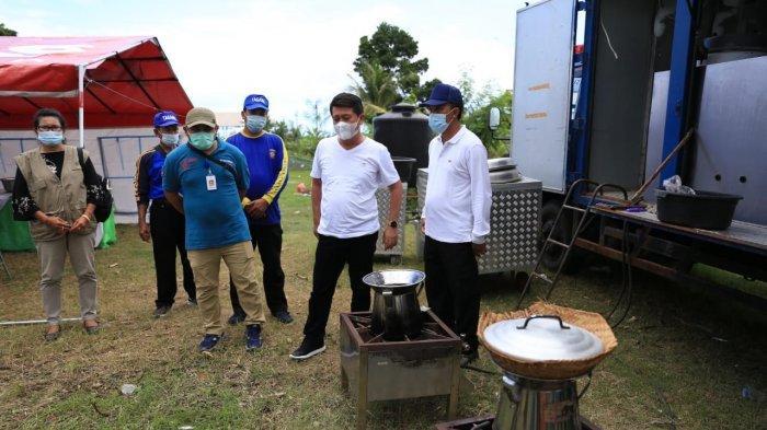 Dapur Umum Penanganan Covid-19 Dibangun di Klungkung, Sediakan Telur Rebus untuk Nakes 4 Kabupaten