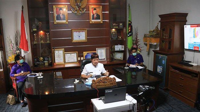 Jadi Narasumber Webinar Universitas Muhammadiyah Magelang,Suwirta Berbagi Penerapan KTR di Klungkung