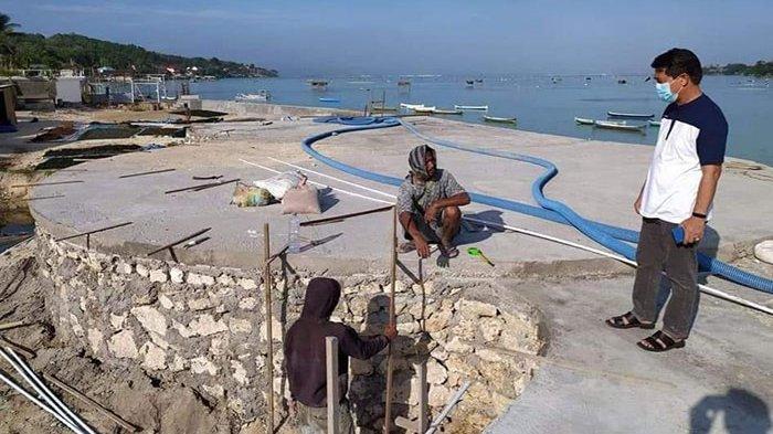 Proyek Panggung Terbuka di Nusa Ceningan Tahap Kedua Dianggarkan Rp 3,8 Miliar