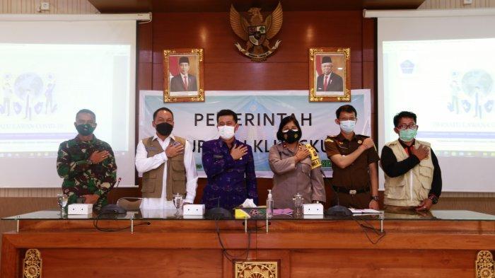 Bupati Klungkung Suwirta Terima Kunjungan Satgas Covid Nasional, Selaraskan Program Pusat dan Daerah