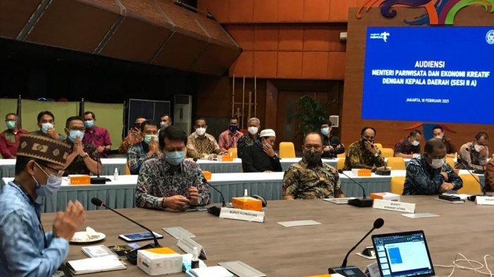 Paparkan Potensi dan Masalah Klungkung, Bupati Suwirta Audiensi di Empat Kementerian