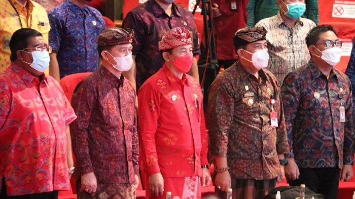 Bupati Sanjaya Hadiri Penutupan Bulan Bung Karno III Tahun 2021 Provinsi Bali