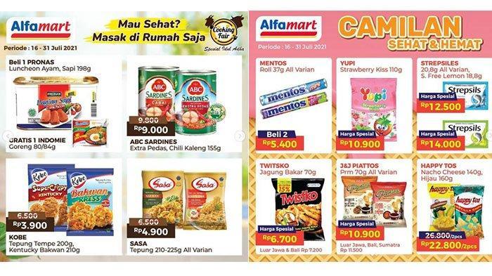 BURUAN, Masih Ada PROMO Alfamart 22 Juli 2021: Happy Tos 2Pcs Rp22.800, SGM Diskon, Ada Gratisan