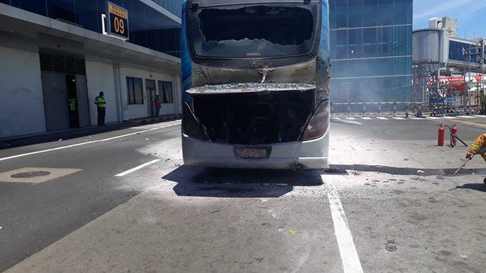 Bus Apron Terbakar Diduga Korsleting Listrik, Otban Segera Terapkan Pembatasan Umur Kendaraan