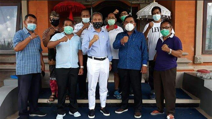 Unggul di Pilkada Jembrana 2020, Tamba Datangi Kantor Sekretariat DPD Demokrat Bali Temui Mudarta