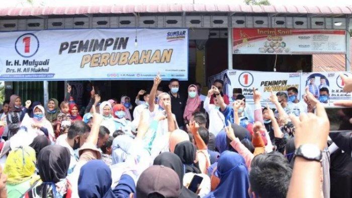Cagub Sumatera Barat Mulyadi Ditetapkan Jadi Tersangka, Kampanye di Luar Jadwal
