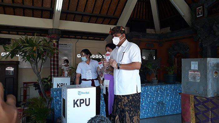 Di TPS Tempat Ambara Coblos, Paslon Ambara-Kertanegara Raih 111 Suara, Jaya-Wibawa 68 Suara