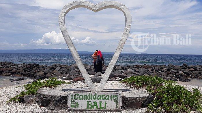 Ingin Liburan Menjadi Romantis Yuk Ke Taman Cinta Candidasa Tribun Bali