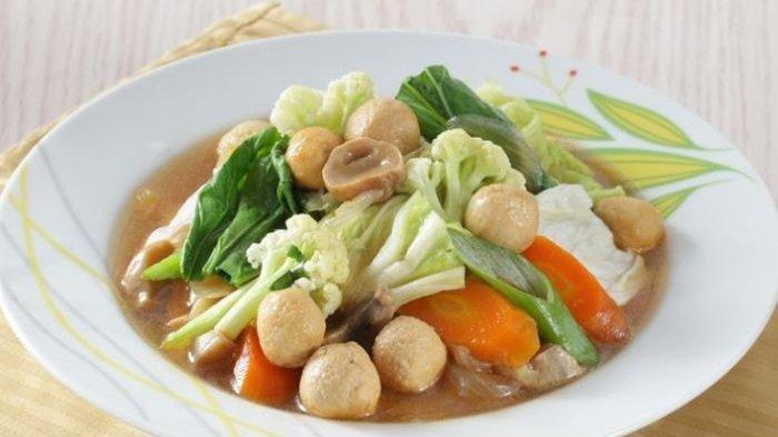 Resep Capcay Printil, Menu Makan Praktis, Sehat dan Lezat untuk Makan Malam
