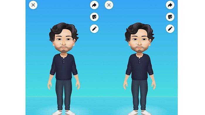 Tanpa Aplikasi Tambahan, Begini Cara Membuat Avatar Facebook Sesuai Keinginanmu