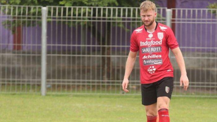 Melvin Tinggalkan Bali United, Teco: Melvin Izin Untuk Pulang