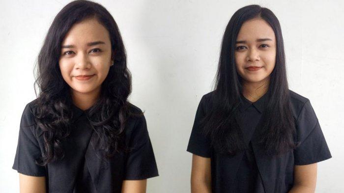 Video Cara Catok Rambut Keriting Atau Ikal Menjadi Lurus Natural Halaman All Tribun Bali