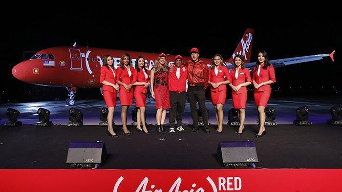 AirAsia Merahkan Langit Asean bersama dengan (RED) Untuk Perangi HIV/AIDS di ASEAN
