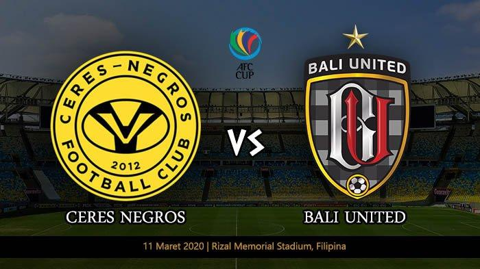 Dua Link Live Streaming Ceres Negros vs Bali United, Misi Mencuri Poin Serdadu Tridatu
