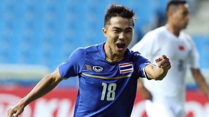 Pemain Bintang Thailand Diragukan Tampil Lawan Timnas Indonesia di Kualifikasi Piala Dunia 2022