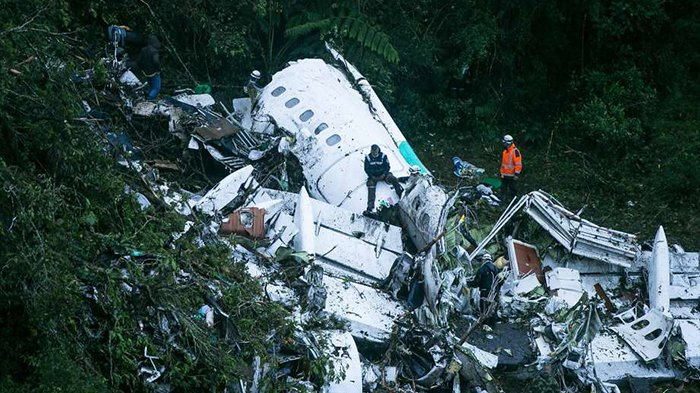 Korban Selamat di Tragedi Pesawat Chapecoense Ceritakan Situasi Genting Sebelum Maut Datang