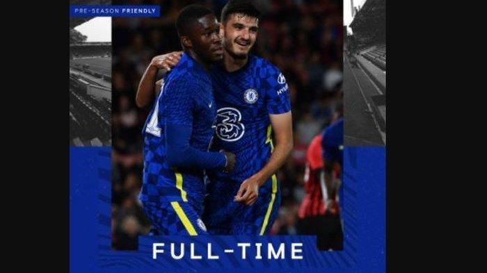 Hasil Chelsea Vs Bournemouth di Laga Pramusim, The Blues Tampil Manis, Berhasil Lakukan Comeback