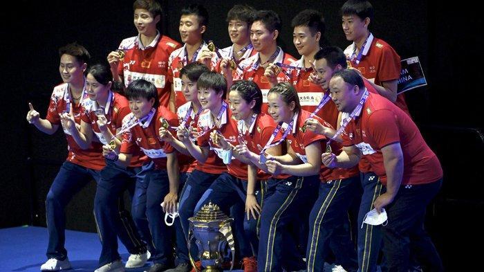 Dominasi China Berlanjut di Piala Sudirman Setelah Taklukkan Jepang 3-1