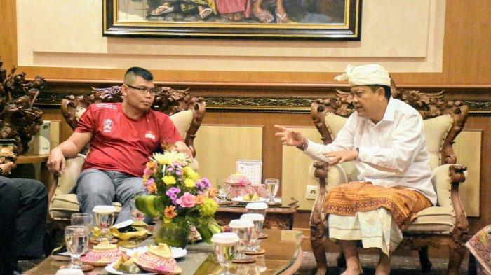 Wali Kota Rai Mantra Dukung Chris Jhon Foundation Bali Jadi Wahana Pengembangan Cabor Tinju