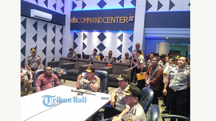 Command Center Polda Bali Telan Biaya 6 Miliar