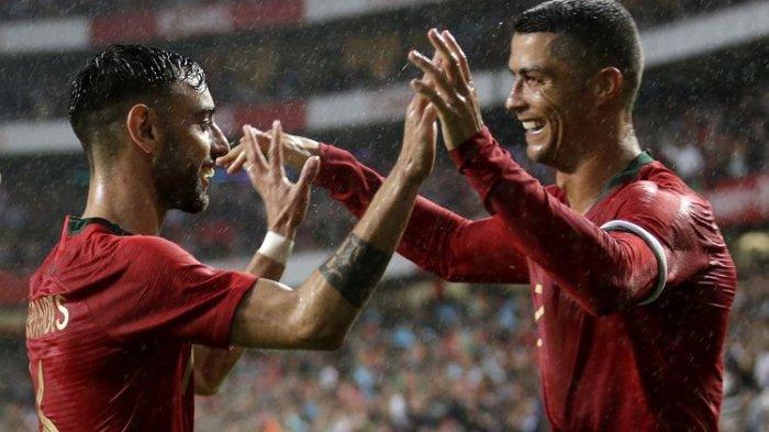 Portugal Bantai Israel pada Laga Pemanasan Jelang Bergulirnya Piala Eropa