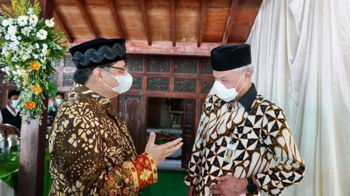Menko Airlangga dan Gubernur Ganjar Ziarah Kiyai Bersama di Jatinom Klaten