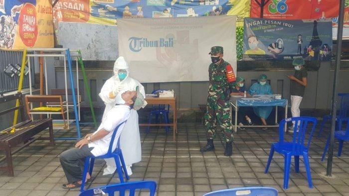 Optimalkan Testing dan Tracing, Dandim Perintahkan Jajarannya Memonitor OTG di Klungkung Bali