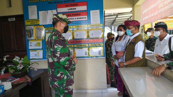 Spirit Gotong Royong Ditonjolkan Sesetan, Wilayah Terpadat di Denpasar Dalam Tanggulangi Covid-19