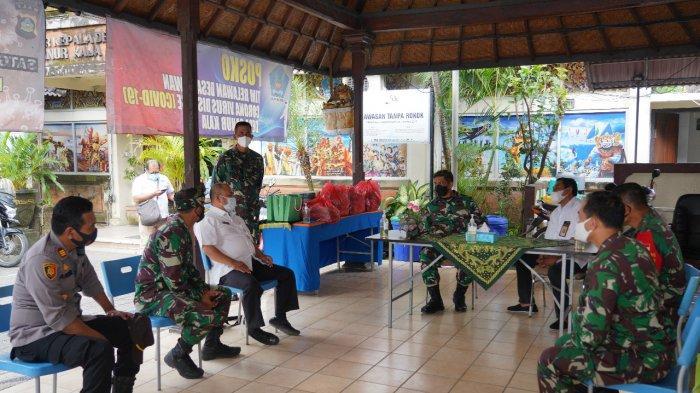 Percepat Kesiapan Wilayah Zona Hijau di Sanur Denpasar, Ini Langkah Danrem 163/Wira Satya Bergerak
