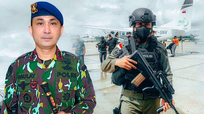 Tumpas KKB, Dua Perwira Polda Bali Ikut Gabung dengan Satgas Ops Nemangkawi 2021 di Papua