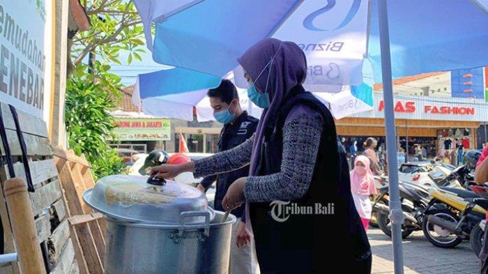 ACT Bali Dirikan Dapur Umum untuk Pengungsi Korban Kebakaran Permukiman Pemulung Denpasar