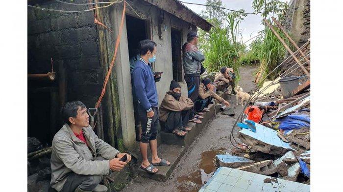 4 Kali Diterjang Longsor Dalam 10 Hari Terakhir, Darmawan Tak Berani Tidur di Rumahnya di Kintamani