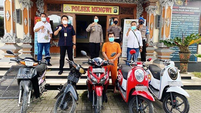 Dek Bola Sang Residivis Ditangkap Polisi, Mengaku Curi 8 Motor, Sebelumnya Beberapa Kali Merampok